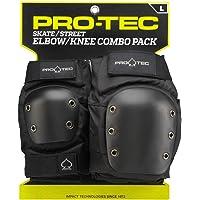 Pro-Tec Street Knee/Elbow Protección para Rodilla de Rugby, Unisex adulto