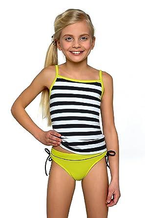 45b2ea6d316af LORIN Girl's Tankini Model 56: Amazon.co.uk: Clothing
