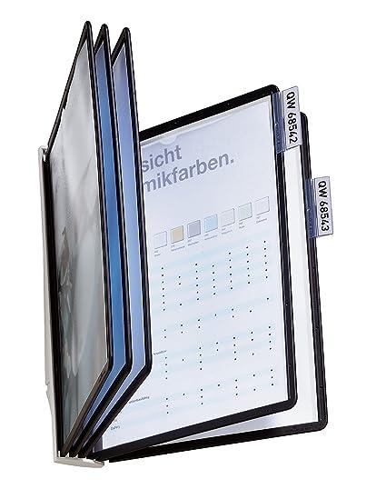 Durable Sherpa - Expositor de pared para catálogos (5 fundas)
