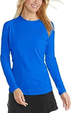 Coolibar UPF 50+ Women's Long Sleeve Hightide Swim Shirt - Sun Protective
