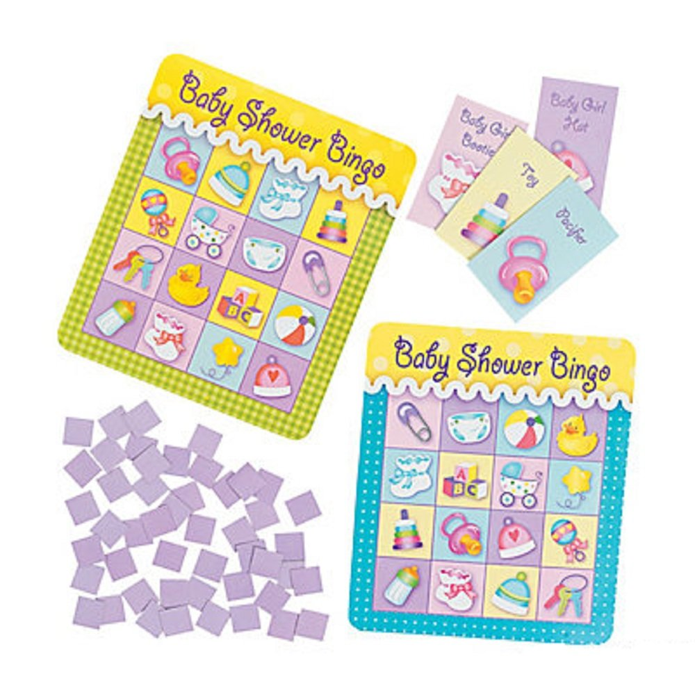 Baby Shower Bingo Game - 8 Players