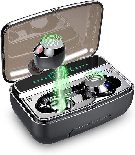3500mAh Kopfhörer TWS Bluetooth 5.0 Headset In-Ear LED Anzeige Ohrhörer Ladebox