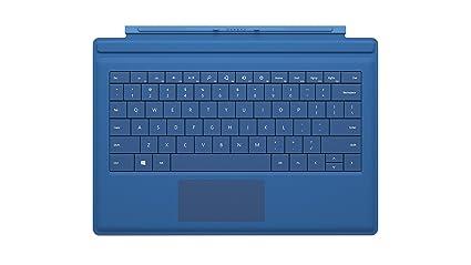 Microsoft Surface Pro 3 Type Cover (Cyan)