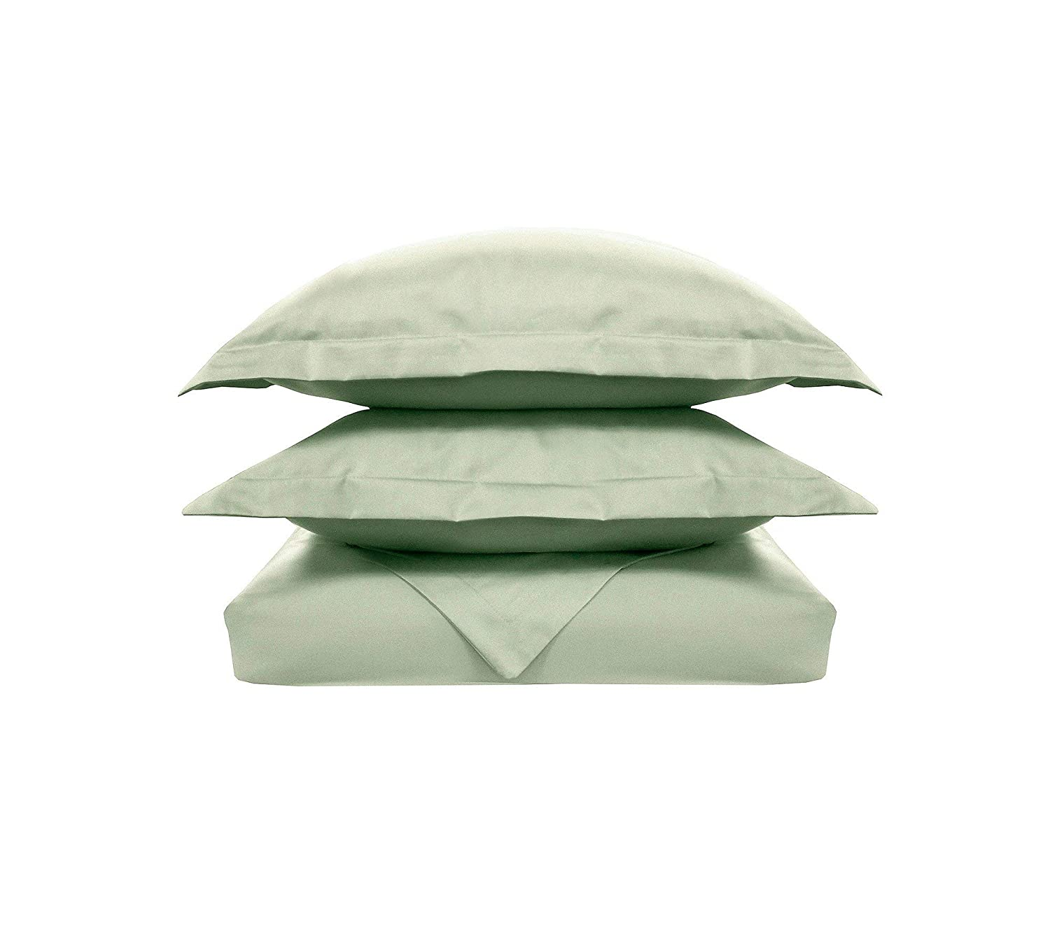 Sage Inc Twin Size 508837 Veratex Supreme Sateen Collection Luxury Soft 300 Thread Count 100/% Egyptian Cotton Sateen Made In The USA Bedroom Duvet and Sham Set