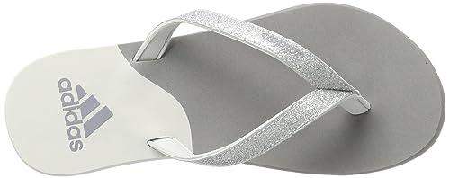 new style 92c25 28e19 adidas Eezay Glitter W, Scarpe da Corsa Donna, Multicolore Three F17Matte  Silver