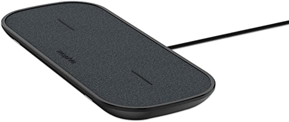 mophie Black Renewed 7.5W Qi Wireless Technology Compatible with Apple devices Wireless Charge Pad