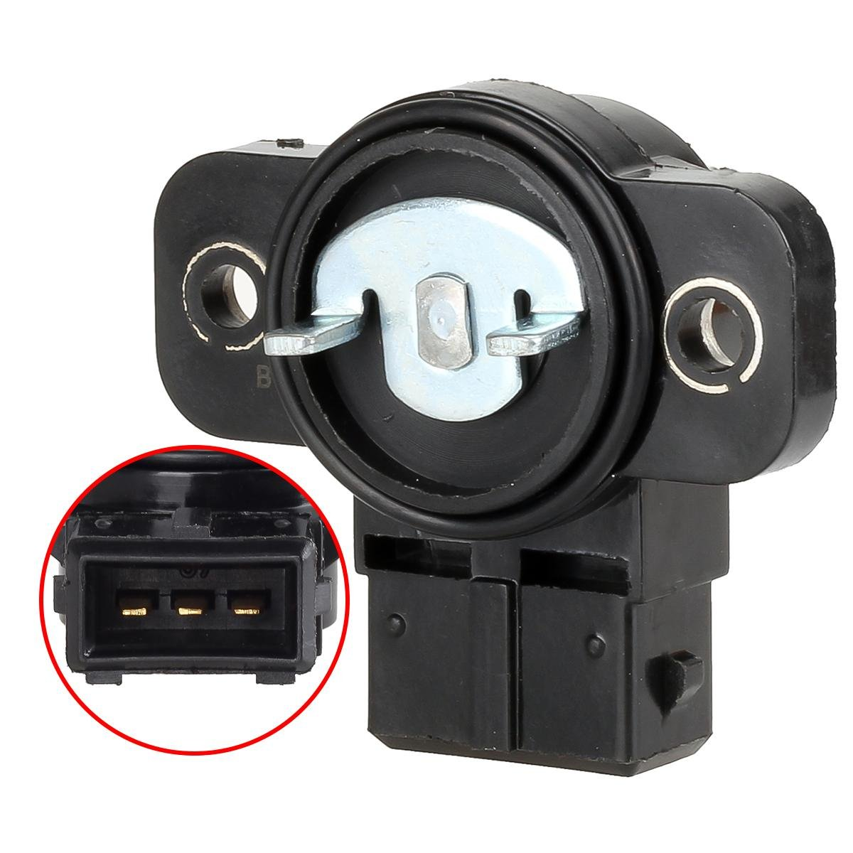 Autex Throttle Position Sensor TPS 3510238610 TH292 compatible with 2001-2006 Hyundai Santa Fe Kia Optima 2002-2005 Hyundai Sonata PartsSquare