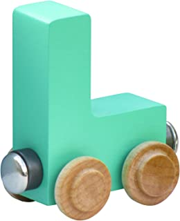 product image for NameTrain Pastel Letter Car L - Made in USA