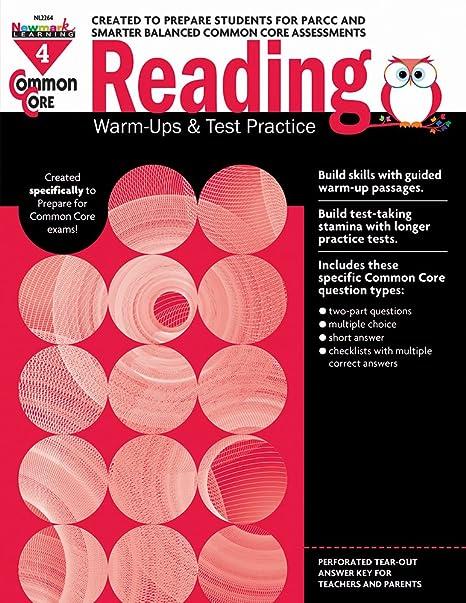 Amazon common core reading warm ups and test practice grade 4 amazon common core reading warm ups and test practice grade 4 9781478806639 multiple authors books fandeluxe Choice Image