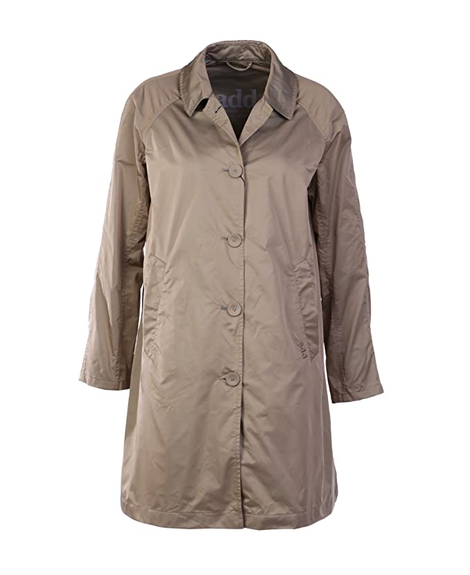 4c3c4df1e9 Add - Giacca - Cappotto estivo - Donna Beige 46^M: Amazon.it ...