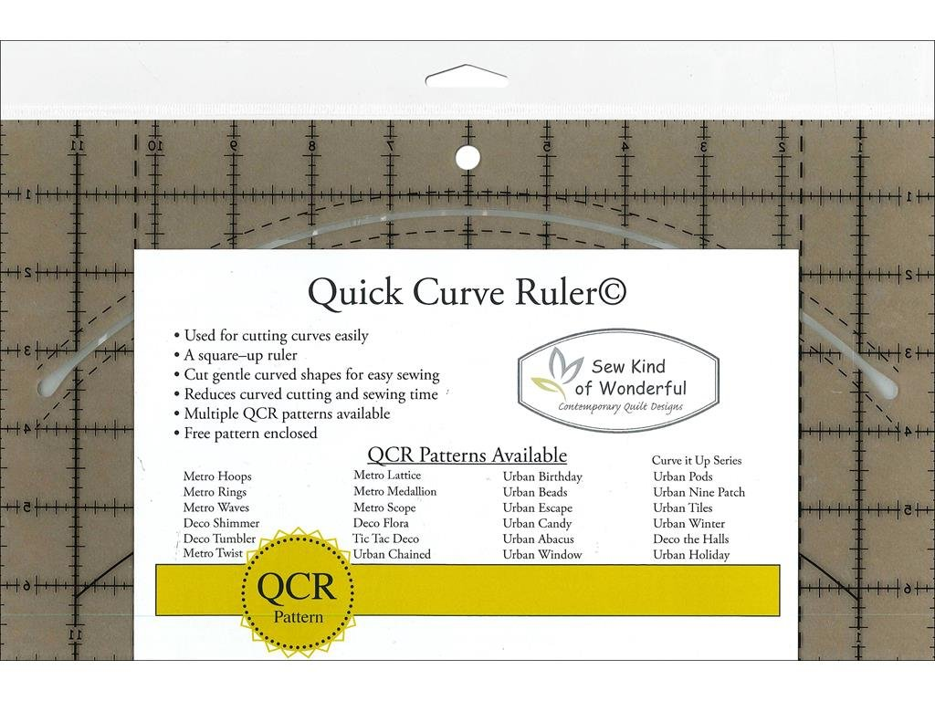 Sew Kind of Wonderful SKW50570 Qcr Ruler Quick Curve Ruler