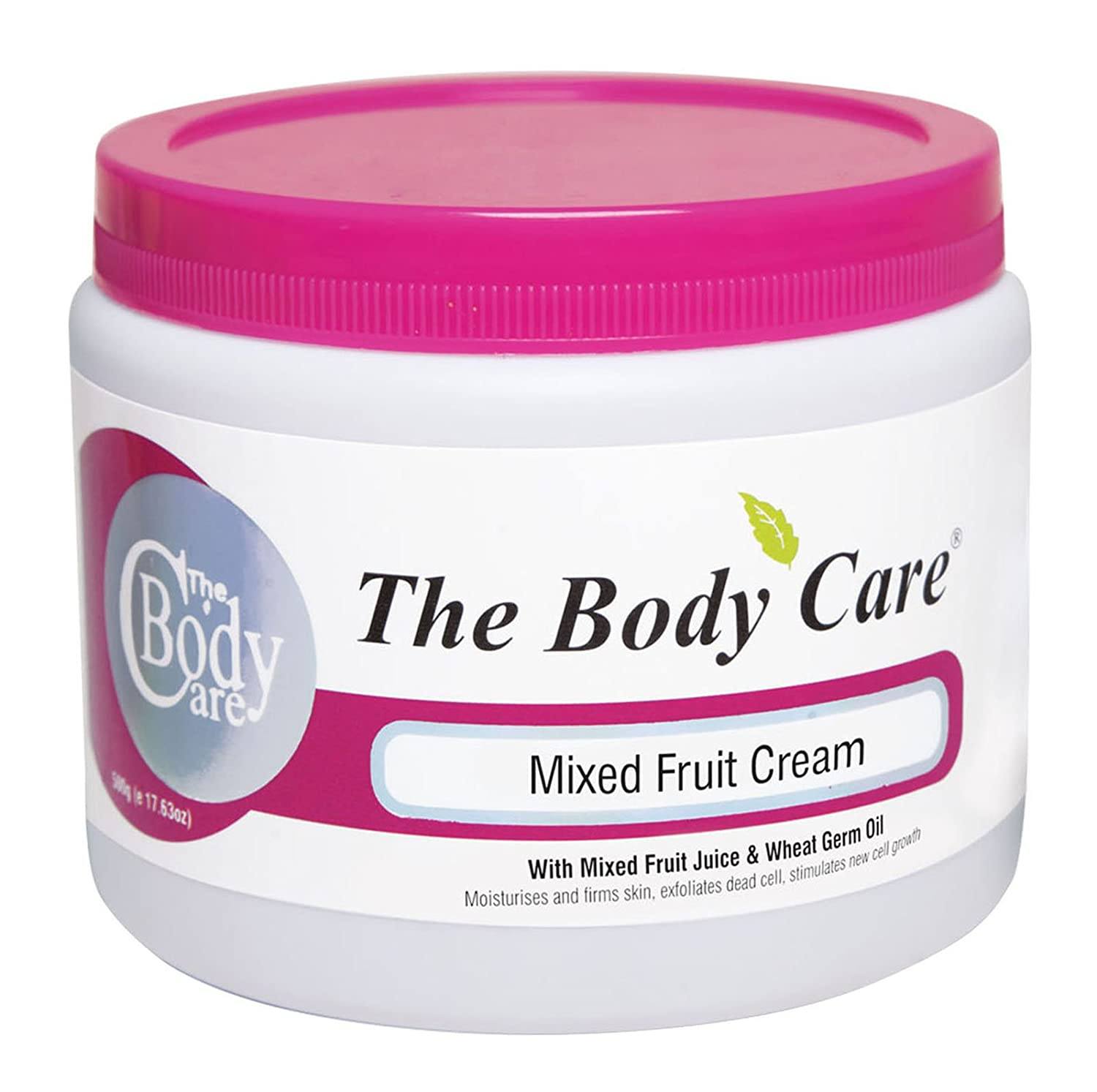 The Body Care Mixed Fruit Face Cream With Mixed Fruit Juice & Wheat Germ Oil