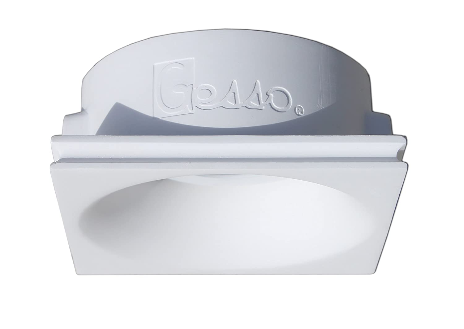 onlineplaster 806 clled27 foco de techo empotrable redondo yeso 6 W blanco natural 12 x 5, 5 cm