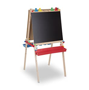 Melissa & Doug Deluxe Standing Easel - best toys for 4 year olds boy and girls
