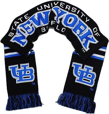 UB Bulls Scarf SUNY Buffalo Bulls Classic Knitted