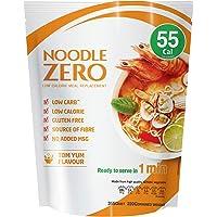 NoodleZero Konjac/Shirataki Low Calorie Meal - Tom Yum Flavour, 390g Low Carb, Gluten Free, Keto Friendly, Easy to Prepare, Healthy Diet Pasta