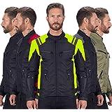 Viking Cycle Ironborn Protective Textile Motorcycle Biker Jacket for Men