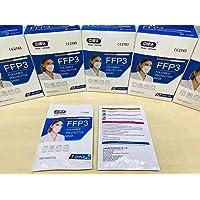 20 Piezas Mascarilla filtrante de partículas FFP3 Mayor grado de proteccion con filtracion, Proteccion Personal…