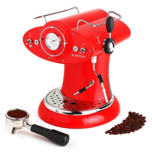 Klarstein 10024131 - Cafetera (Independiente, Máquina espresso, 1 ...