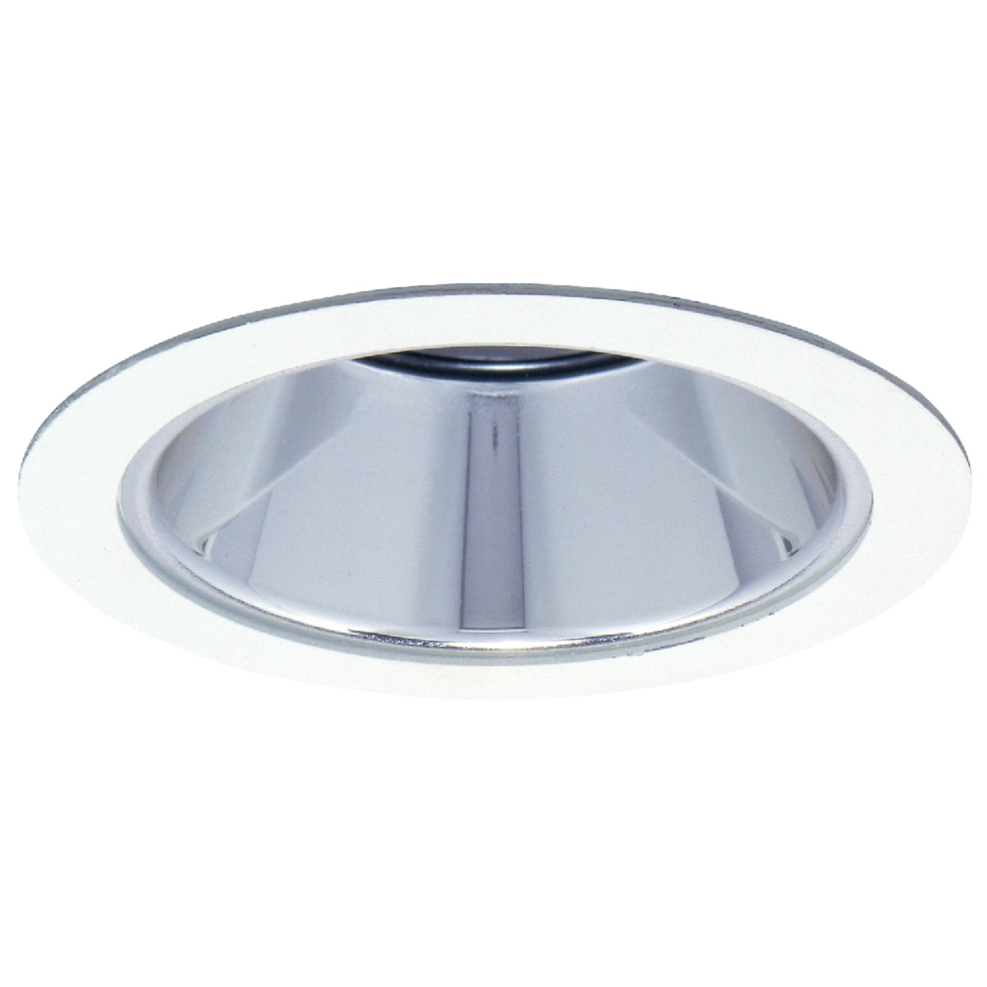 Halo Recessed 1421W 4-Inch Trim with Reflector, White