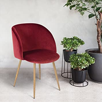 midcentury modern velvet accent arm chair for living room side chair with - Side Chairs For Living Room