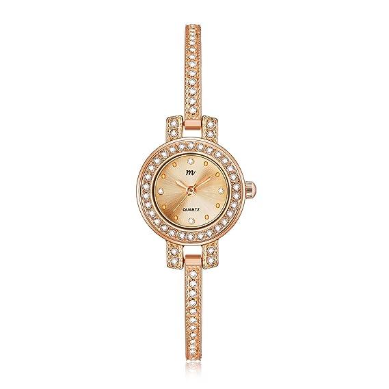 Amazon.com: MW - Reloj de pulsera de cuarzo para mujer ...
