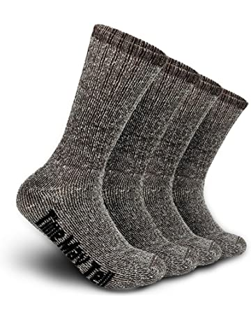 HyperShellz Waterproof Socks for Outdoor Sports Running Cycling Hiking Unisex Mid-Calf Merino Wool Socks for Men /& Women