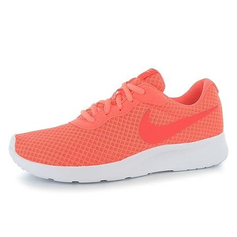 Nike Tanjun – Zapatillas de Entrenamiento para Mujer Mango/Rojo Gimnasio Fitness Zapatillas Zapatillas,