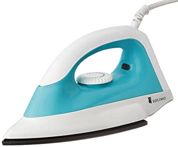e3f16d87806 Image Unavailable. Image not available for. Colour  Amazon Brand - Solimo  1000-Watt Dry Iron (White ...