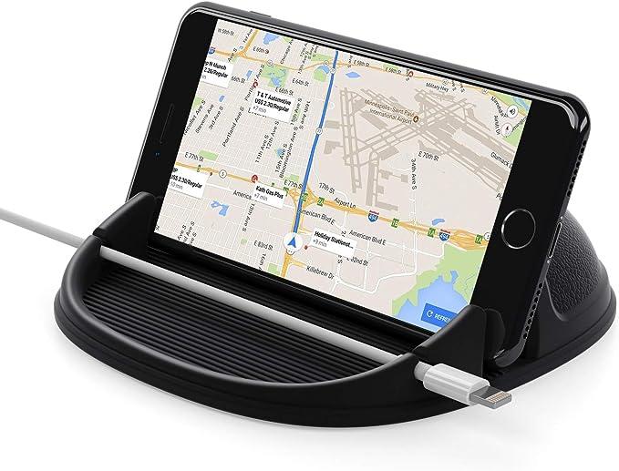 Lanhiem Handyhalterung Auto Silikon Antirutschmatte Elektronik