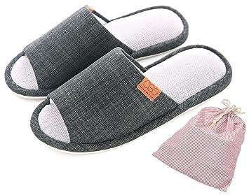 fb877178c Couples/Families Slip-on Slippers Happy Lily Non-slip Open Toe Sandal  Organic