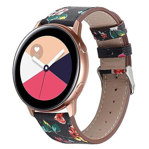 Compatible con Galaxy Watch Active Bands/Garmin Vivoactive 3 ...