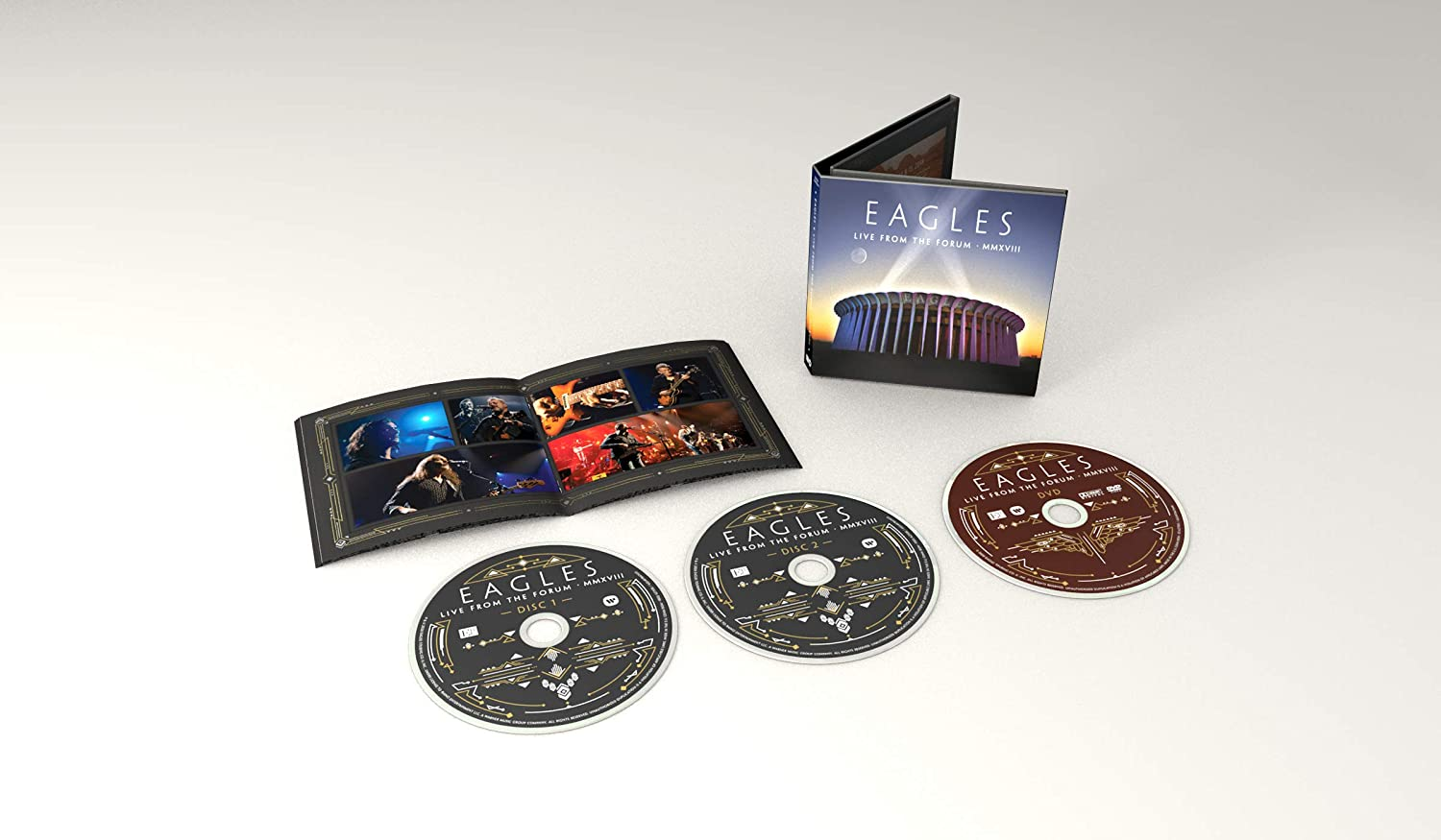 Live From The Forum MMXVIII (2CD + DVD)