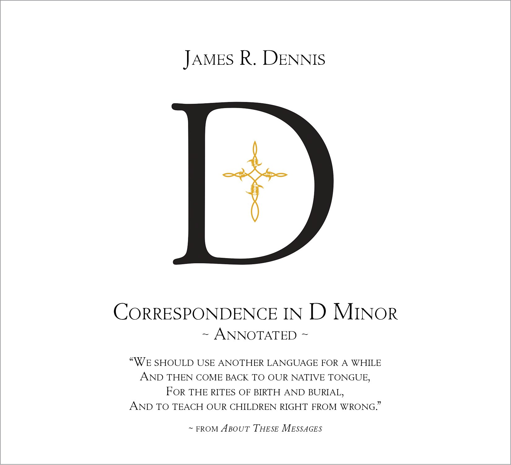 Correspondence in D Minor (Annotated) ebook