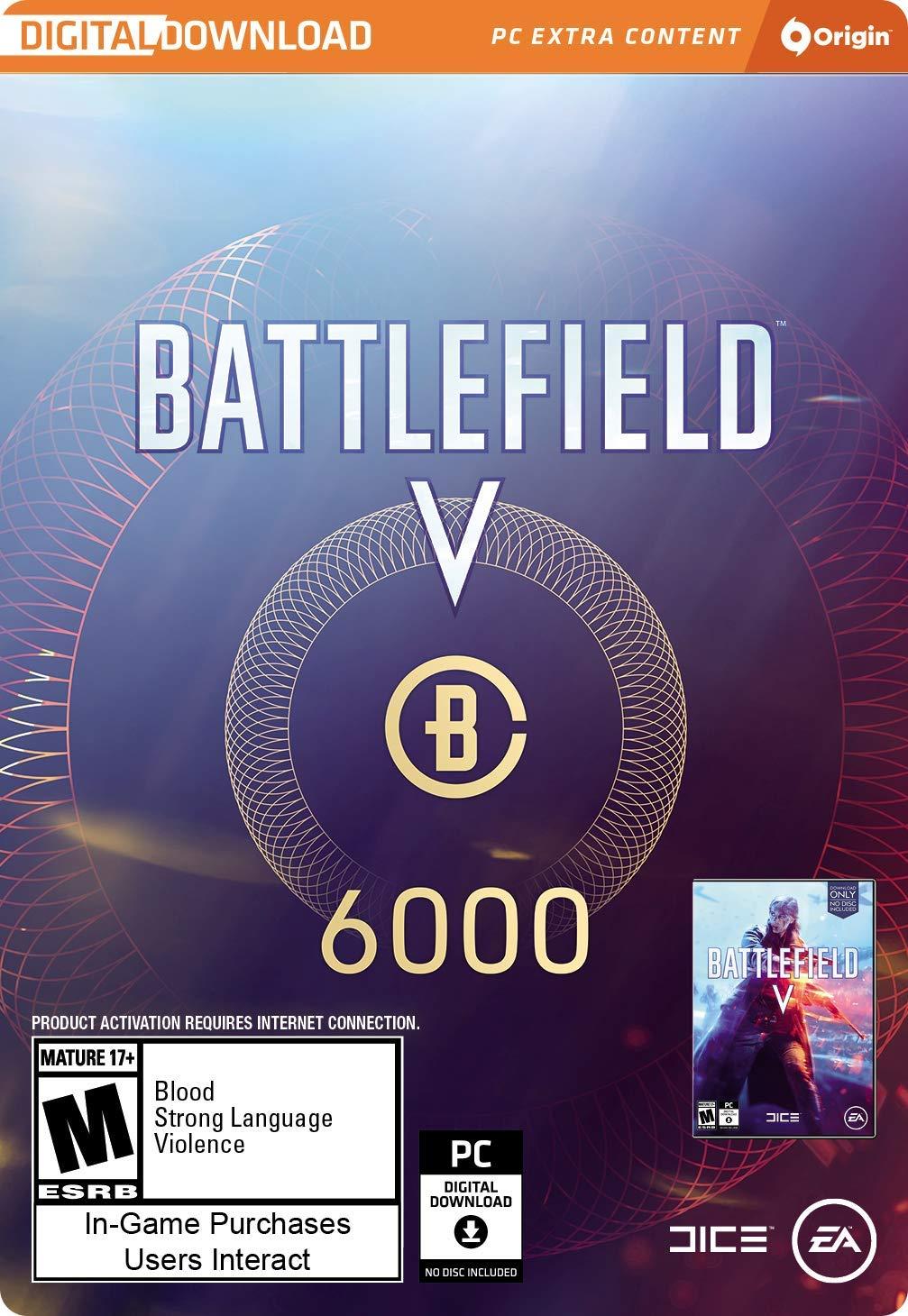 Battlefield V - Battlefield Currency 6000 [Online Game Code]