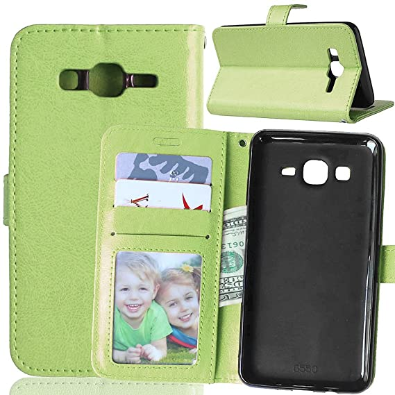 check out 26aa8 41ab3 Galaxy On 5 Case, Samsung Galaxy On5 Case, Mellonlu Premium PU Leather  Wallet Style Flip Cover Case for Samsung Galaxy On5 G550, with Free Screen  ...