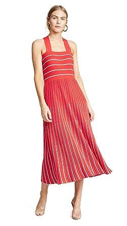 8bd0bfa31d Sonia Rykiel Women's Halter Neck Knit Dress at Amazon Women's ...