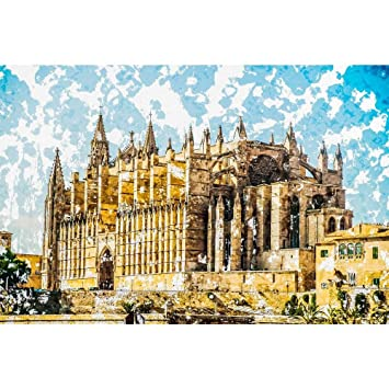 Pitaara Box Cathedral of Palma De Mallorca, Spain D3 Peel ...