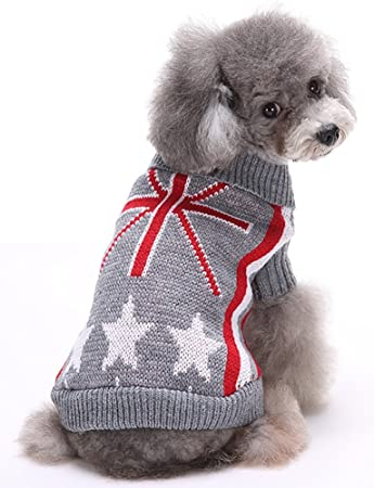 Amazon Clothes Sweatshirt For Dogs Sweater Uk Flag Pattern