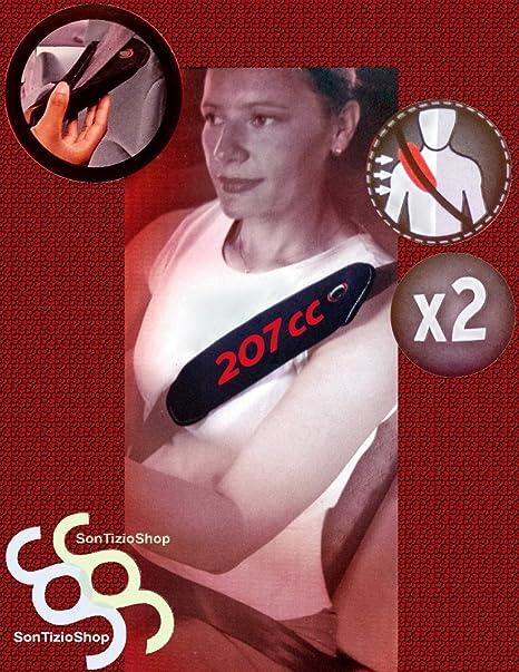 207CC rosso! PEUGEOT 207CC DECORO 2 Copricinture Universali
