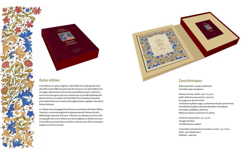 Livres D Heures De Jeanne De France Manuscrit En Fac