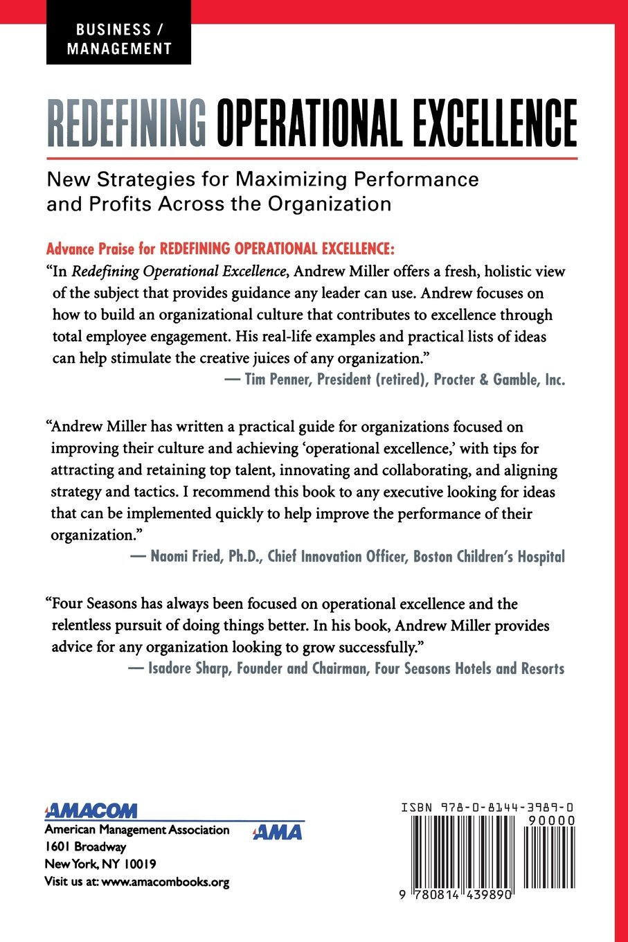 amazon com redefining operational excellence new strategies for