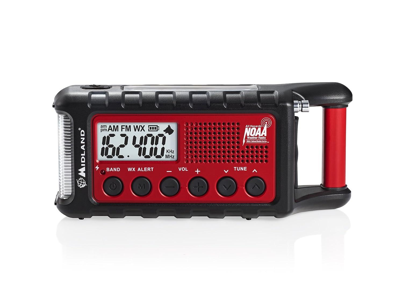 MIDLAND RADIO Emergency Dynamo Crank Radio w Battery