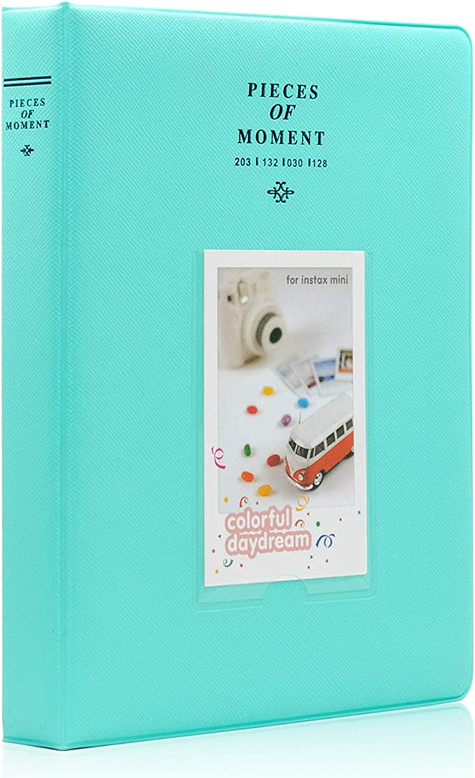Adecuado para Fujifilm Mini Camera 7s 8 8 Yosuny Mini 64 Pocket Photo Album Set para Fotos de 3 Pulgadas Polaroid PIC-300 9 25 50s 70 90 Zip Link Liplay Snap//Kodak//HP Sprocket Film