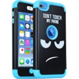 iPod Touch 7 Case, iPod Touch 6th Generation Case,SAVYOU 3 in 1 Combo Hybrid Impact Resistant Shockproof Case Cover Protectiv