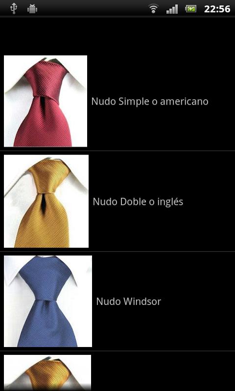 Nudos de Corbata: Amazon.es: Appstore para Android