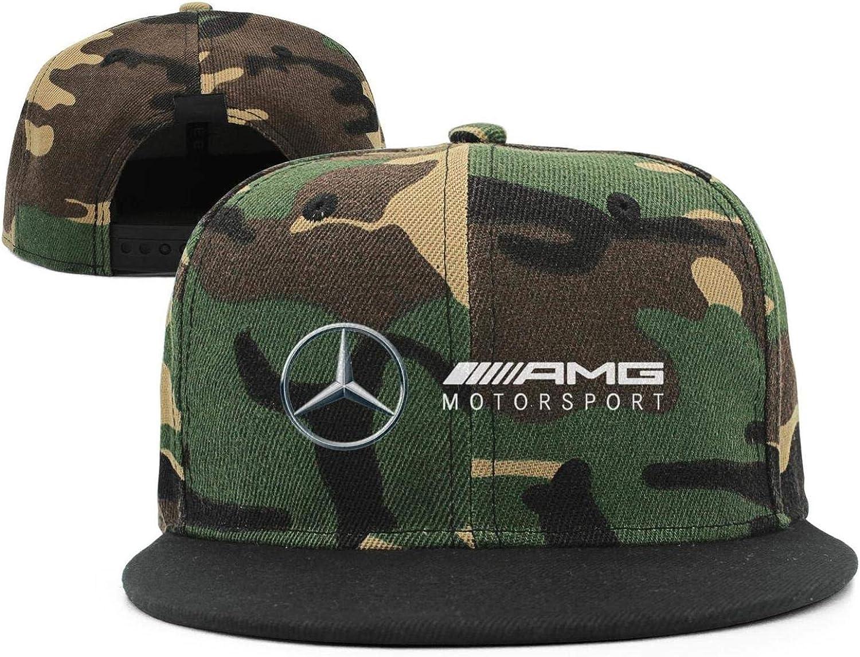 Mercedes-AMG-Motorsport-Logo Unisex Youth Stylish Hip Hop Hat Fit Baseball Cap