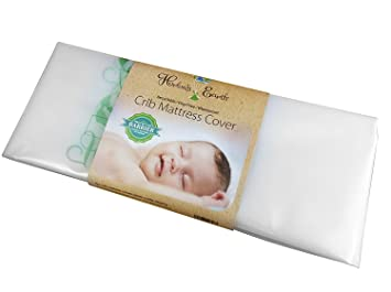 save off 21512 eb11a Harlow's Earth Crib Mattress Cover, Clear