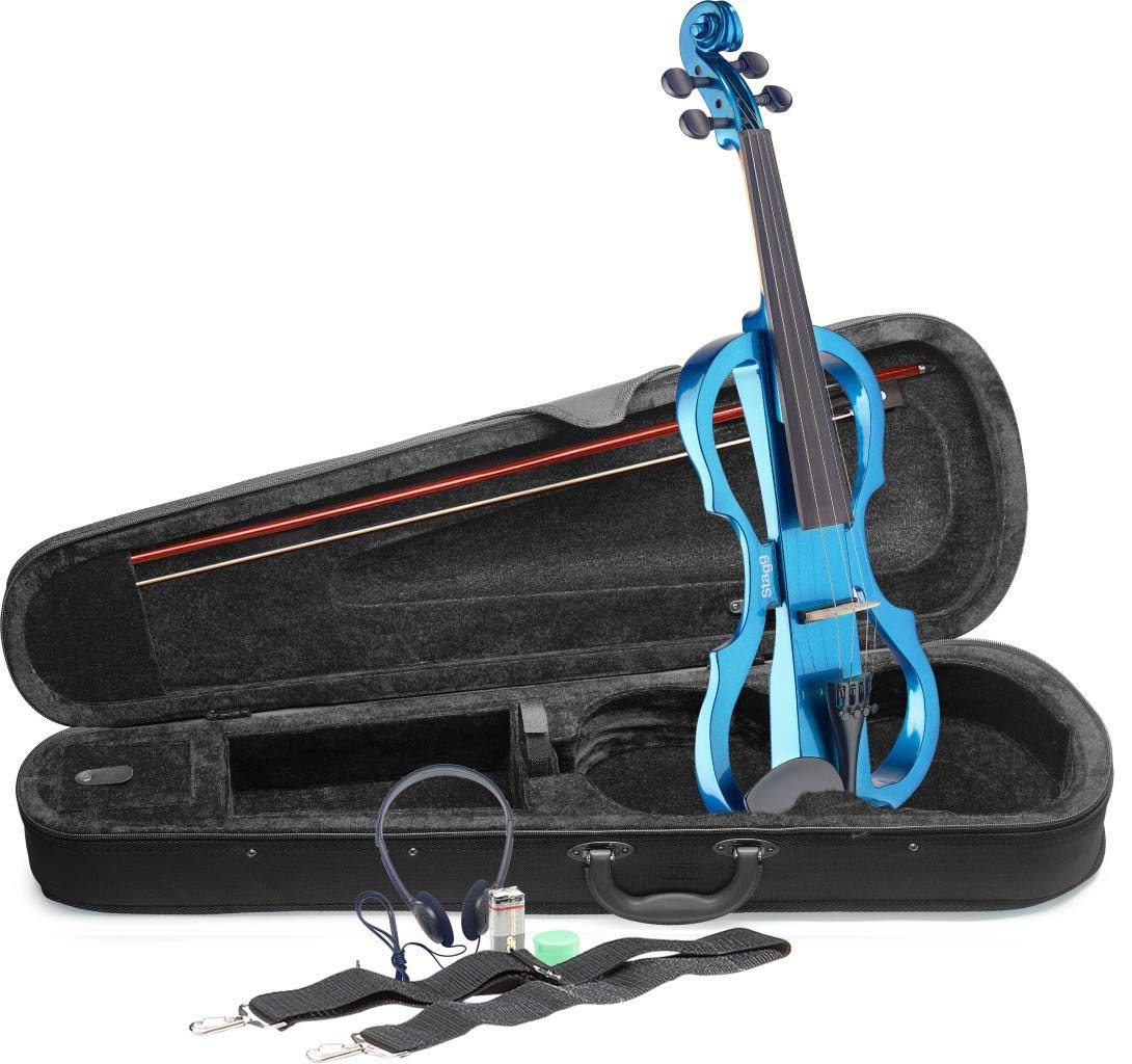 Stagg EVN X-4/4 MBL Electric Violin by Stagg