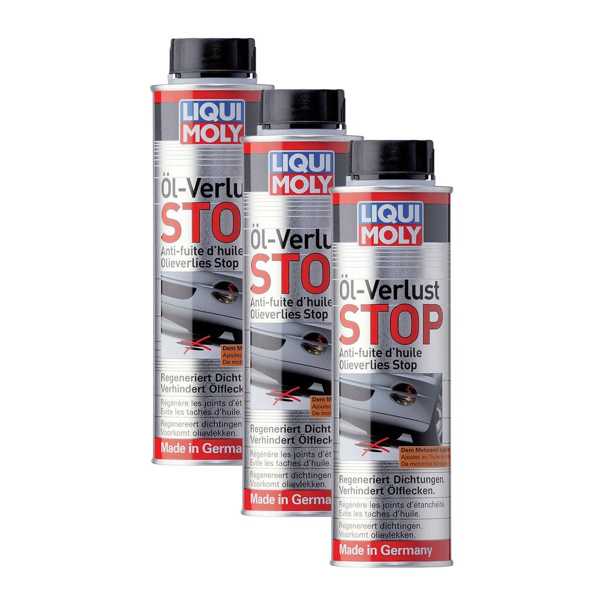 Liqui Moly Tapafugas de Aceite para Motores de Gasolina y dié sel con o sin Filtro de partí culas